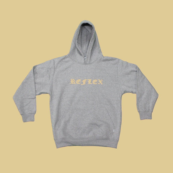Heather Grey / Orange / Hoodie