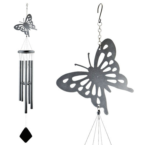Shadow Butterfly Wind Chime