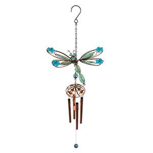 Spring Wings Blue Dragonfly Wind Chime