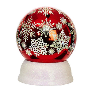 SNOWFLAKE LIGHTED GLOBE