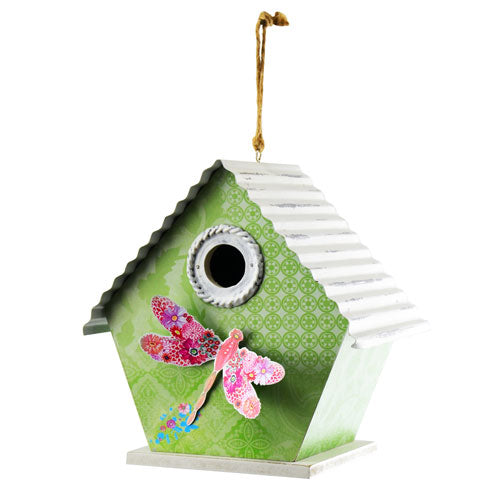 Sage Dragonfly Bird House