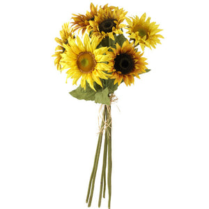 "29"" Artificial Sunflower Bunch"
