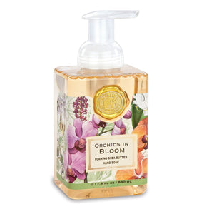 Orchids In Bloom Foaming hand Soap