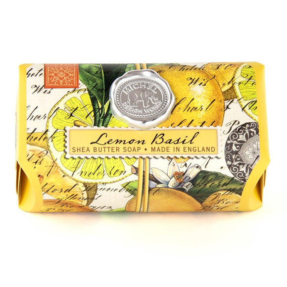 Lemon Basil Large Bar Soap