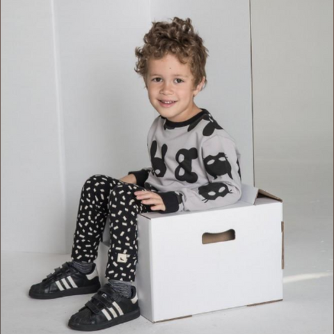 Monochrome childrens clothing