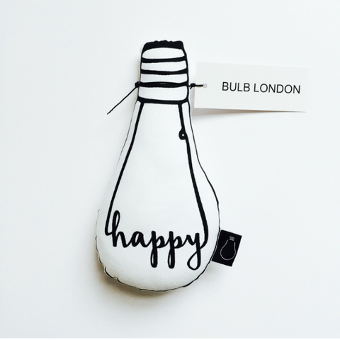 Happy Bulb Modern Nursery Decor