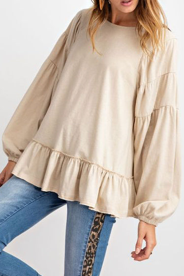 Tiered Taupe Swing Top