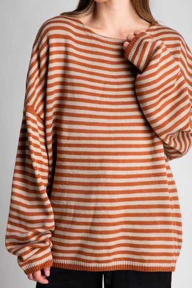 Canyon Stripe Sweater