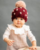 Pomegranate Percy Dot Beanie Hat