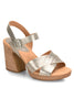 Kristjana Soft Gold Sandals