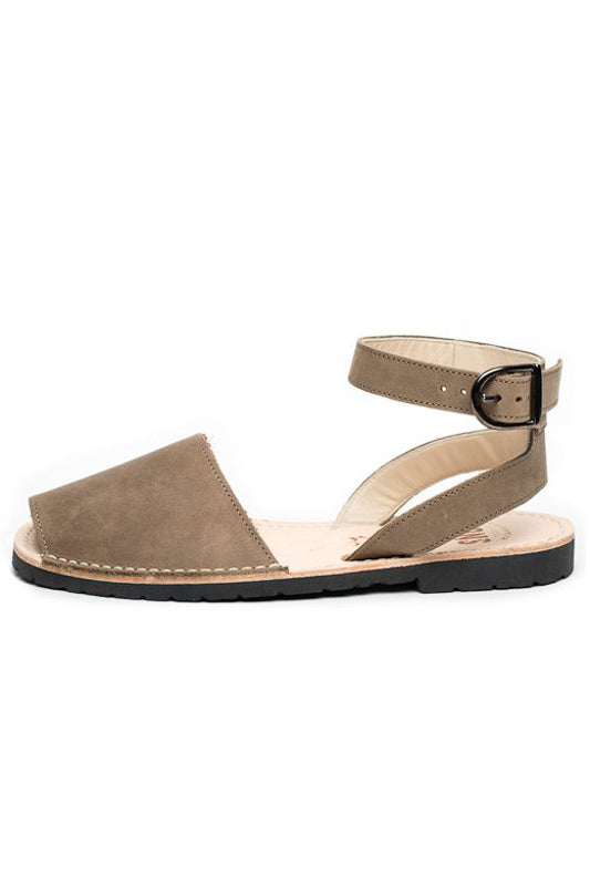 Taupe Ankle Strap Pons
