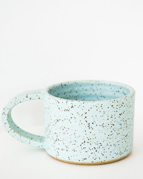 Blue Speckled Mug
