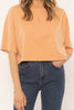 Tan Easy Life Knit Top