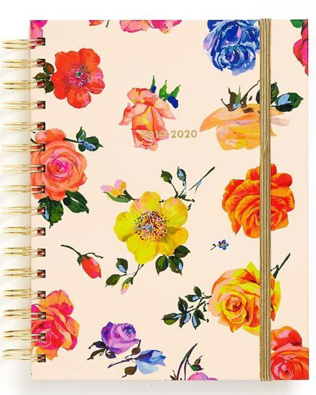 Medium Coming Up Roses 2020 Planner
