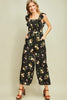 Midnight Floral Jumpsuit
