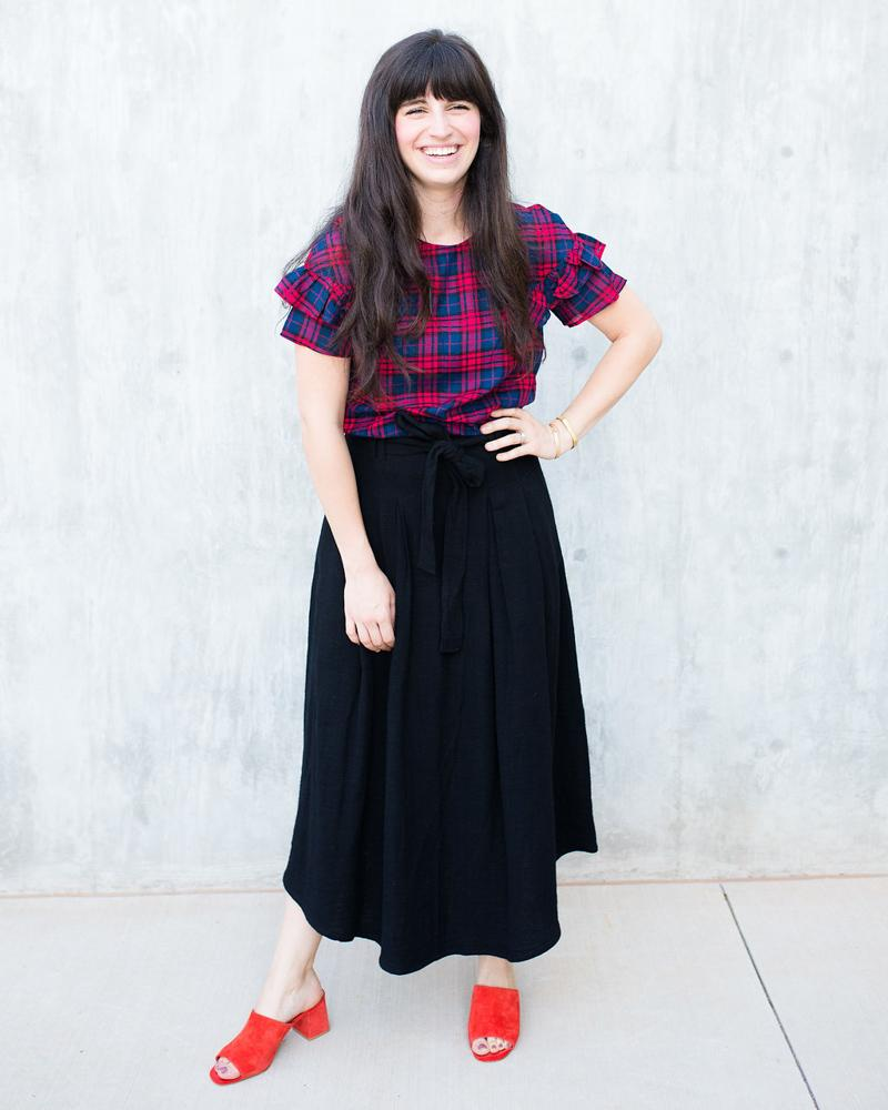 Belted Norwich Skirt