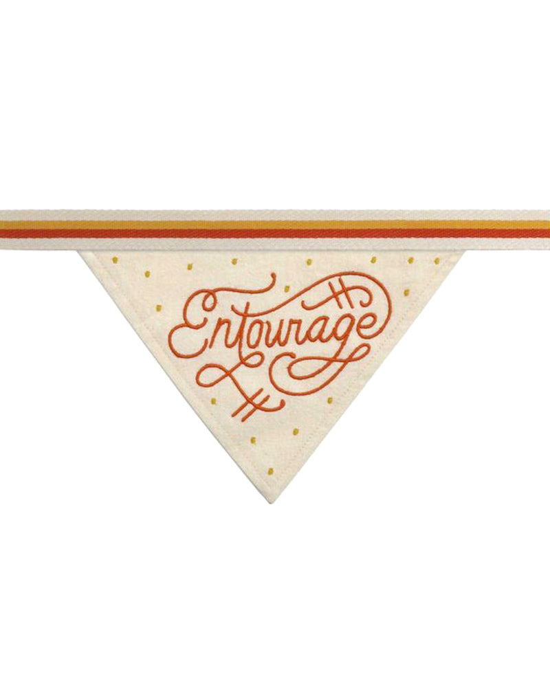 """Entourage"" Dog Bandana"