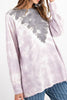 Ash Tie Dye Long Sleeve Top