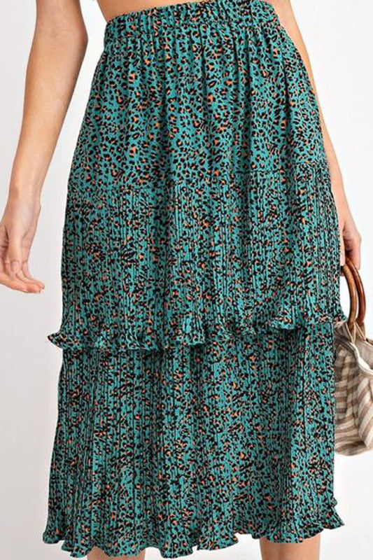 Jade Ruffled Layer Skirt