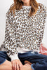 Leopard Terry Top