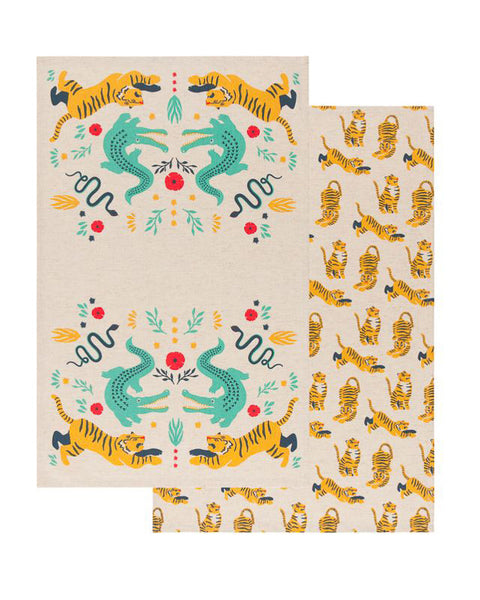 Fierce Tea Towel Set