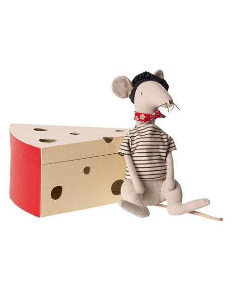 French Rat with Cheese Box