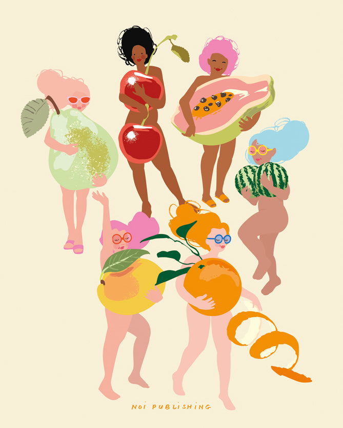 Fruit Nudies Print