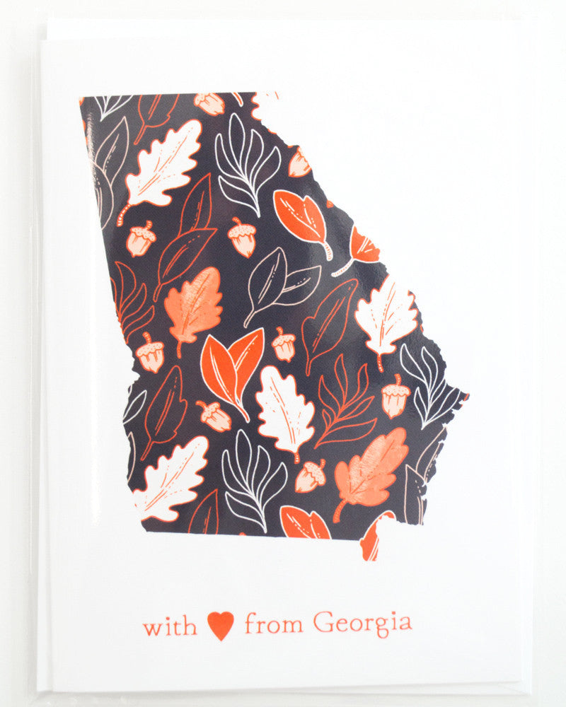 With Love From Georgia Card
