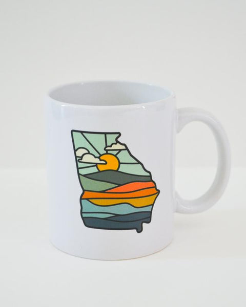 Georgia Sunrise Mug