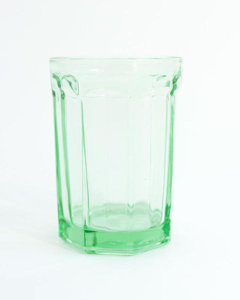 Soda Shoppe Green Glass