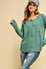 Seafoam Long Sleeve Top