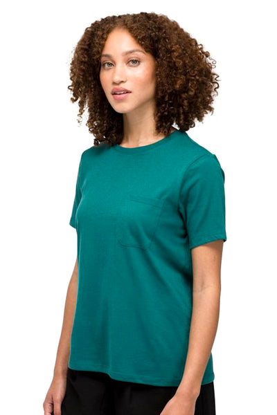 Green Pocket Crew Tee