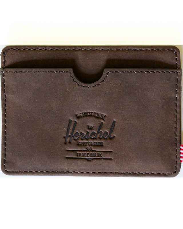 Nubuck Leather Charlie Wallet