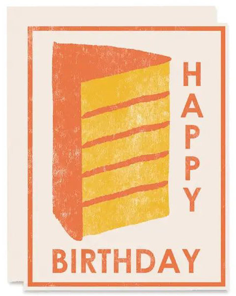 Layer Cake Birthday Card
