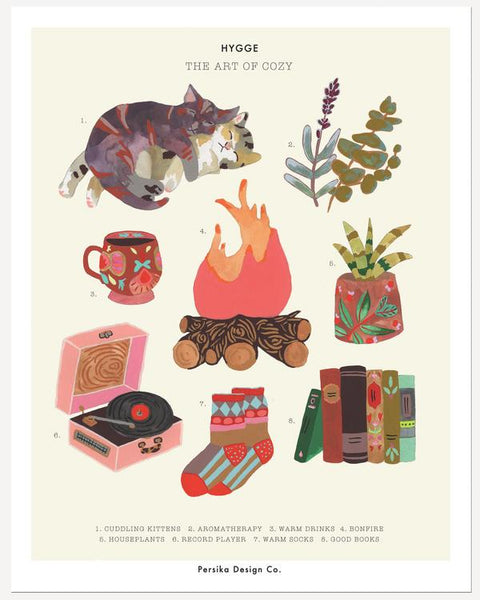 Hygge: The Art of Cozy Print