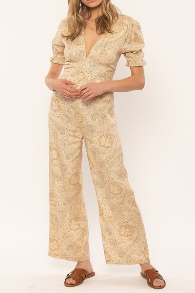 Laurel Paisley Jumpsuit
