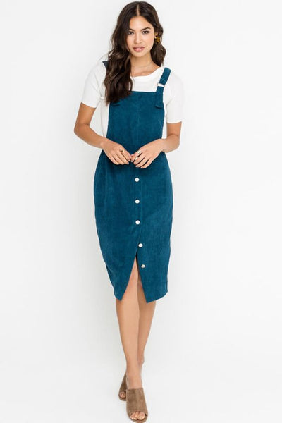Teal Overall Jumper