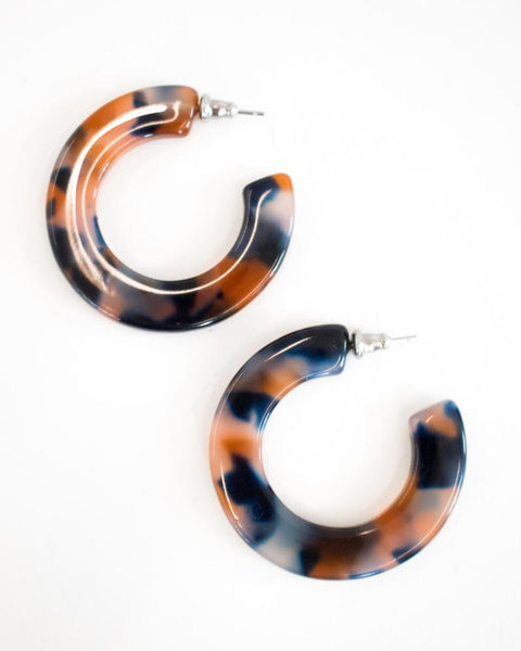 Machete Kate Fortune Hoop Earrings
