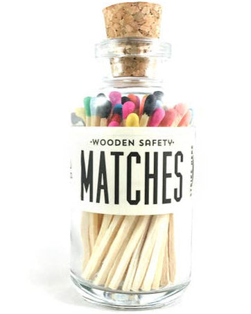 Rainbow Mini Matches