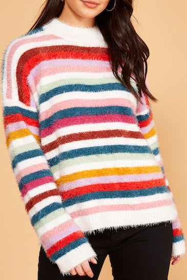 Debby Striped Sweater