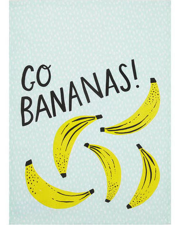 Go Bananas Kitchen Towel