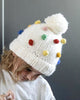 Percy Rainbow Dot Beanie Hat