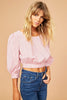 Candy Gigham Crop Top
