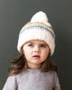 Reagan Rainbow Stripe Beanie Hat