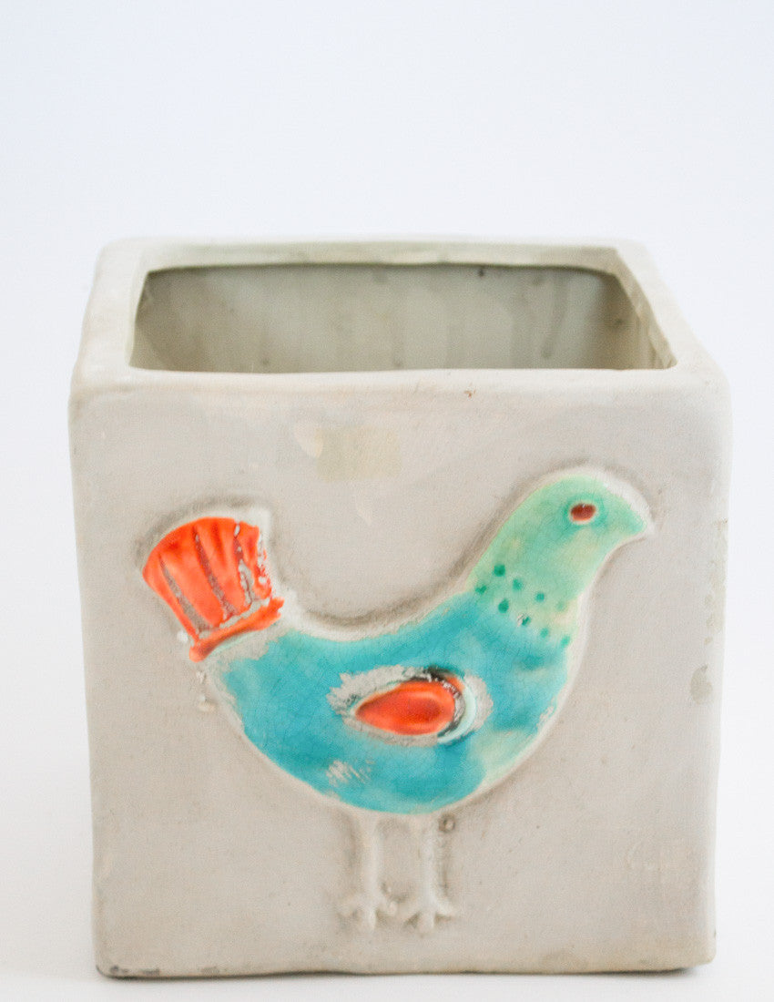 Bird Planter (Large)