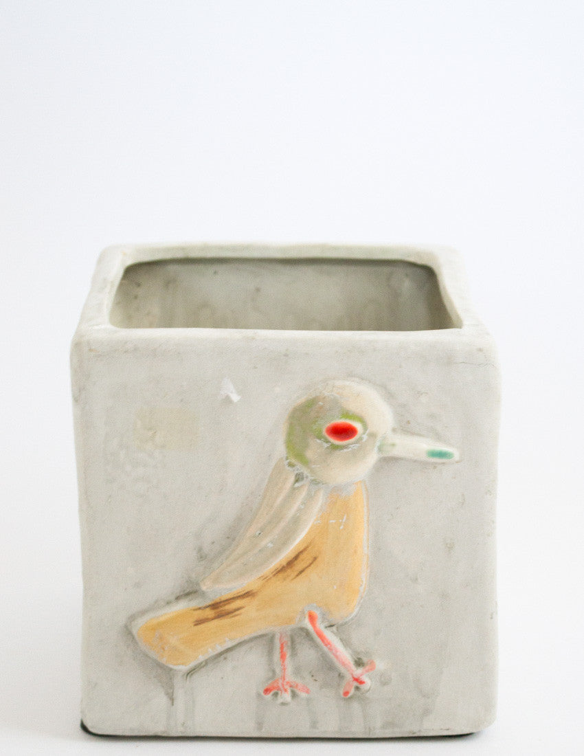 Bird Planter (Small)