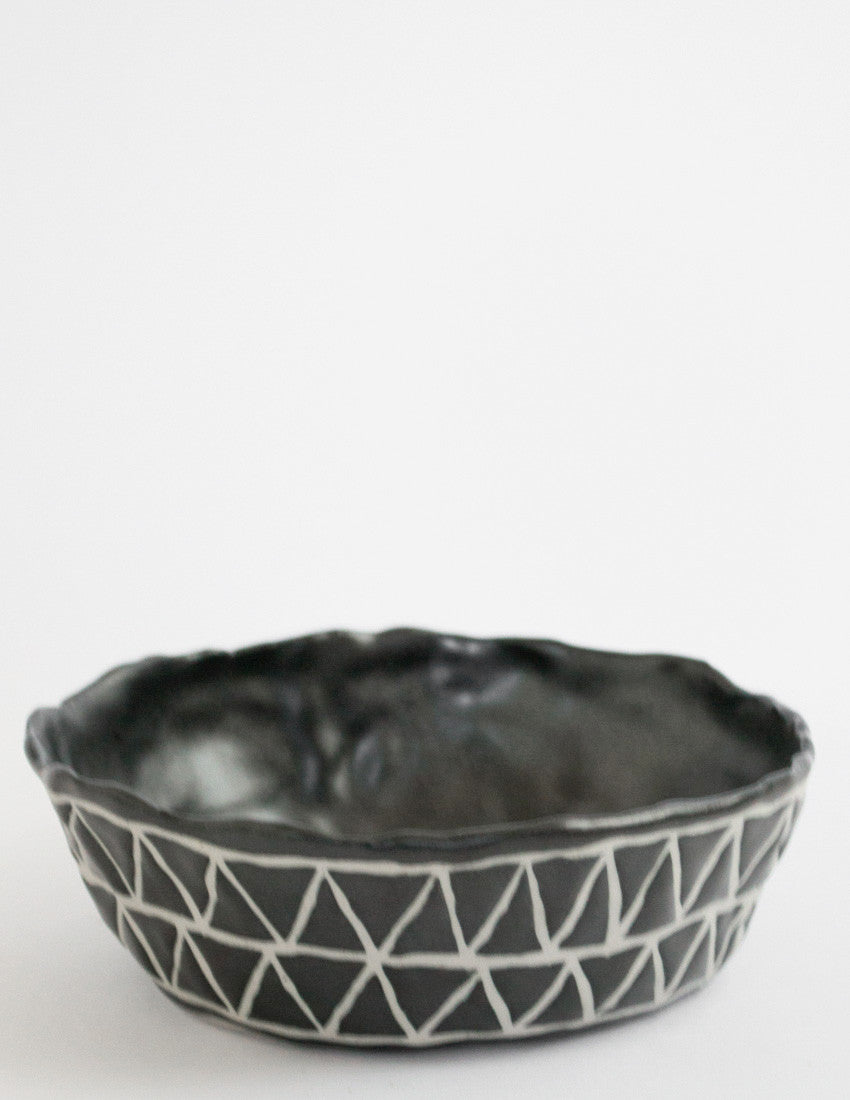 Wiggle Triangles Bowl