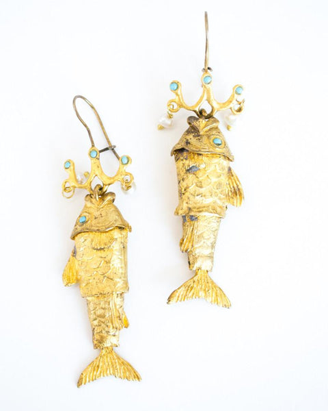 Fish Market Earrings