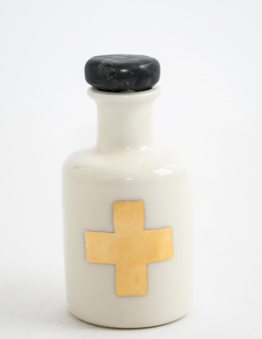 Swiss Cross Apothecary Bottle