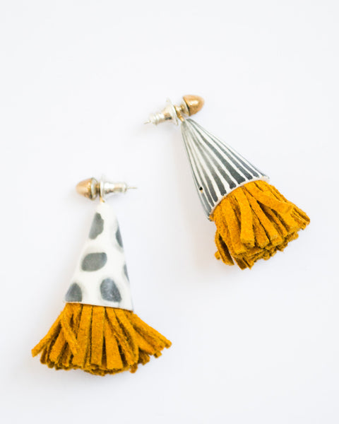 Kalypto Mustard Earrings